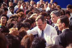 President George H.W. Bush. 41st President of United States. Royalty Free Stock Photography