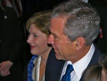 President George W. Bush and Mrs. Laura Bush Royalty Free Stock Images