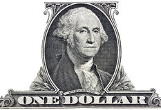 President George Washington. Portrait of president George Washington Royalty Free Stock Photo