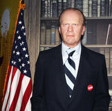 President Gerald R. Ford. Gerald R. Ford, the 38th president of USA at Madame Tussauds Wax Museum in Washington D.C Stock Image