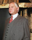 President Herbert C. Hoover. Herbert C. Hoover,the 31st president of USA at Madame Tussauds Wax Museum in Washington D.C Royalty Free Stock Images