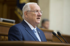 President of Israel Reuven Rivlin Royalty Free Stock Photography