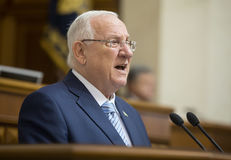 President of Israel Reuven Rivlin Royalty Free Stock Image