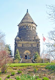 President James A Garfield memorial stock photography