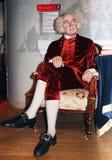 President John Adams. John Adams, the 2nd president of USA at Madame Tussauds wax museum in Washington D.C royalty free stock photography
