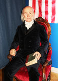 President John Quincy Adams. John Quincy Adams, the 6th president of USA at  Madame Tussauds Wax Museum in Washington D.C Stock Image
