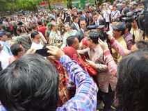 President Jokowi royalty free stock photography