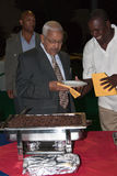 President Kaapverdië P.Pires Stock Afbeeldingen