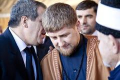 President Kadyrov stock afbeelding