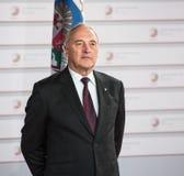 President of Latvia Andris Berzin Royalty Free Stock Photography