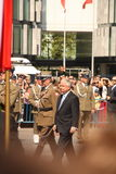 President Lech Kaczynski royalty free stock photo