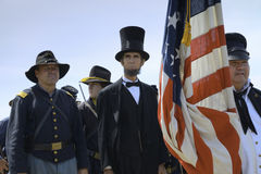 President Lincoln Royalty Free Stock Photos
