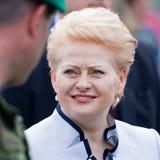 The President of Lithuania Dalia Grybauskaite Stock Photo