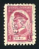 President Masaryk Royalty Free Stock Image
