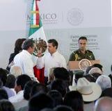 The President of Mexico, Enrique Peña Nieto Stock Photo