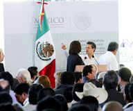 The President of Mexico, Enrique Peña Nieto royalty free stock image