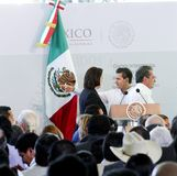 The President of Mexico, Enrique Peña Nieto Royalty Free Stock Photos