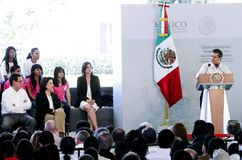 The President of Mexico, Enrique Peña Nieto Royalty Free Stock Photo