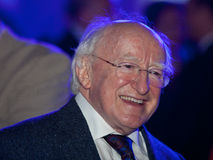 President Michael D Higgins royalty free stock photo