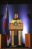 President Noynoy Aquino Royaltyfri Fotografi