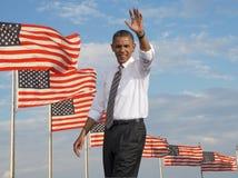 President Obama Arkivbild