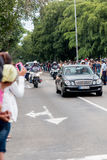 President Obama motorcade in Havana, Cuba 2016 Royalty Free Stock Photos