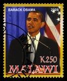 President Obama Postzegel Royalty-vrije Stock Foto