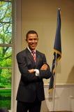 President Obama wax statue Stock Image