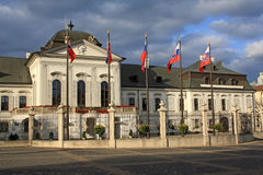 President Palace in Bratislava Stock Images