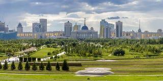 President Park in Astana, Kazachstan royalty-vrije stock afbeelding
