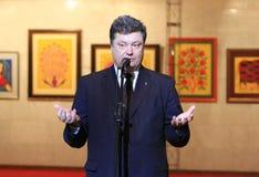 President Petr Poroshenko Stock Photo