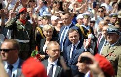 President of Poland Andrzej Duda Royalty Free Stock Photo