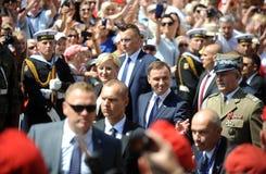 President of Poland Andrzej Duda Stock Image
