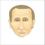 President Putin Royaltyfria Foton