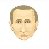 President Putin. Putin, Russia, the face of Russia Royalty Free Stock Photos