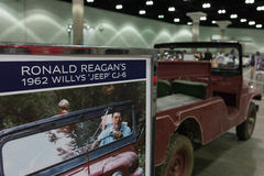 President Reagan`s 1962 Willys Jeep CJ-6 Stock Images