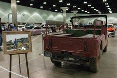 President Reagan`s 1962 Willys Jeep CJ-6 Royalty Free Stock Photo