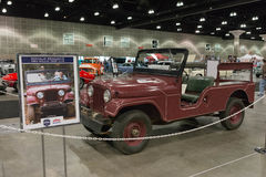 President Reagan`s 1962 Willys Jeep CJ-6 Royalty Free Stock Images