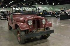 President Reagan`s 1962 Willys Jeep CJ-6 Stock Photos