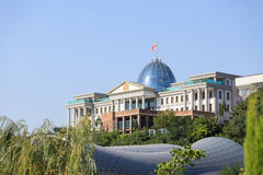President residence in Tbilisi. Tbilisi, Georgia - August 1, 2015 There is a presidend residence stock photos