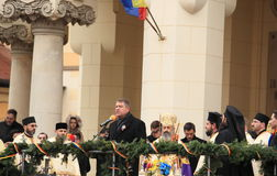 President of Romania - Iohannis Stock Photo