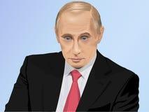 President of Russia Vladimir Putin Royalty Free Stock Photos