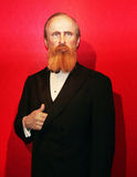 President Rutherford B. Hayes. Rutherford B. Hayes,the 19th president of USA at Madame Tussauds Wax Museum in Washington D.C Royalty Free Stock Photography
