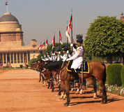 President's Bodyguard - India Royalty Free Stock Image