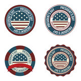 President's day labels Stock Photo