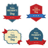 President's day labels Stock Images