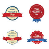 President's day labels Royalty Free Stock Photography