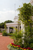 President's House, Secunderabad. The front garden and facade of Rashtrapati Nilayam, President's House, in Secunderabad, India.  India's President stays at this Stock Photography