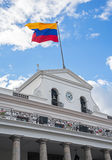 President's Palace. Side view of the President's Palace in Quito Ecuador Stock Images