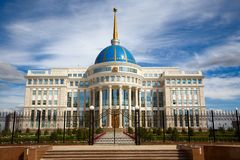 President's palace. Stock Photo